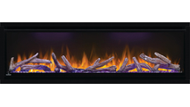 Log Set & Red Flame Detail