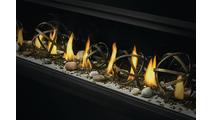 Flame & Globe Detail
