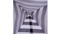Blue and White Stripes Children Teepee Tent