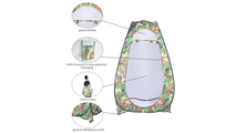 Camouflage Portable Pop Up Toilet Shower Tent