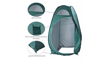 Portable Pop Up Toilet Shower Tent in Army Green