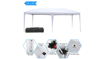 Waterproof Folding Tent in White