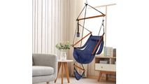 Blue Oxford Cloth Hanging Chair