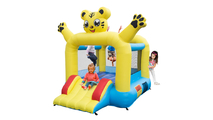 Lion Inflatable Jumping Castle with Slide