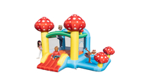 Mushroom Inflatable Jumping Castle with Pool and Slide (No Blower)