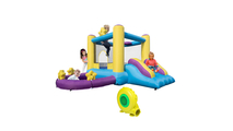 Star Inflatable Jumping Castle with Pool and Slide ( Included Air Blower )