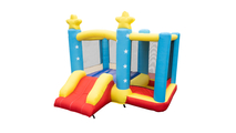 Stars Inflatable Jumping Castle with Slide