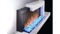 59 Inch Stylus Cara Electric Wall Mount Fireplace