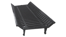 36 Inch Extra Heavy Duty Cast Iron Wood And Coal Grate