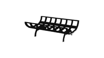 24 Inch Cast Iron Wood Grate For Corner And See-Through Fireplaces