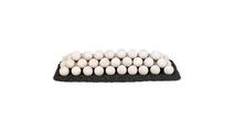 48 Inch Cottage White Lite Stone Fire Balls Set