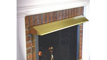 Fireplace Hood In Polished Brass