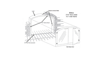 Arch mortar frame specs