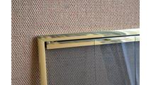 Rainbow Door In Polished Brass Corner Detail