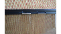 Rainbow Fireplace Door Flat Black And Chrome Handles