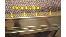 Discoloration On Optima Door