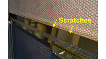 Location Of Scratches In Top Frame
