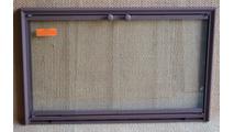 Shadow Fireplace Door In Rust