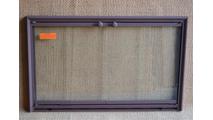 Shadow 3-Sided Fireplace Door
