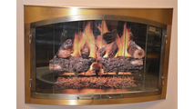 Bay Window Fireplace Door From FDM Co