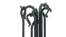 Forged Hearth Tool Set Handle Detail