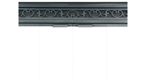 Brookfield Deluxe Refacing Handle Position - Scroll louvers