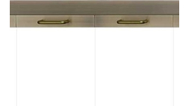 Legend Masonry Fireplace Door Handle Position Detail - Antique Brass