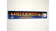 Angled Log Lighter for Natural Gas