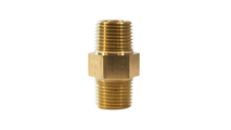 "1/2"" Male/Male Brass Orifice Replacement Adapter NG"