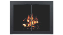 Shenandoah Fireplace Door in Matte Black