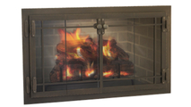 Craftsman Fireplace Door in Classic Bronze