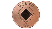Antique copper escutcheons for shut off valves