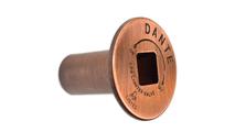 Copper escutcheon