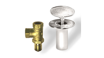 Dante Satin Nickel Angled Quarter-Turn Shut-Off Valve Kit
