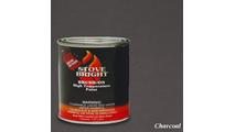 Charcoal Brush On Stove Paint 1 Pint