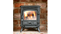 Replacement wood stove glass