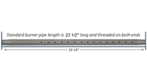 "24"" Log Lighter Pipe Length"