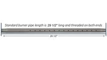 """30"""" Log Lighter Pipe Length"""