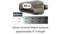 Size of NG Universal Mixer