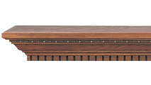 Danforth Wooden Mantel Shelf -Real wood is used in making our mantel shelves.