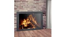 Colridge Fireplace Door in Matte Black