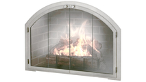 Arched Fireplace Door