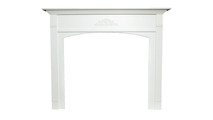Arched Arden Wood Fireplace Mantel