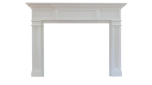 Carolina Wood Fireplace Mantel
