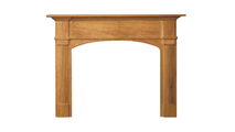 Arched Chateau Mantel
