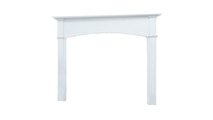 Arched Whitmore Wood Fireplace Mantel