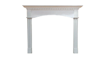 Arched Willington Wooden Fireplace Mantel