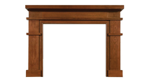 Clayton Wood Fireplace Mantel
