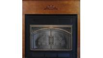Madrid Fireplace Door in Classic Bronze