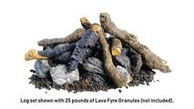 Fire Pit Log Set Beachwood Logs And Stones